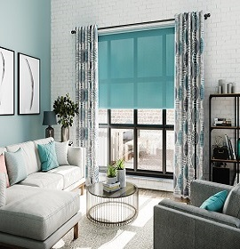 San Clemente Roller Shades
