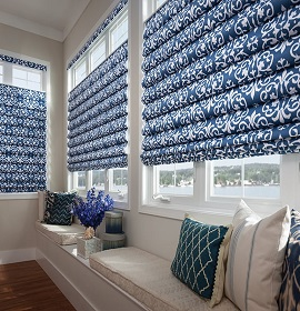 Escondido Hobbled Roman Shades