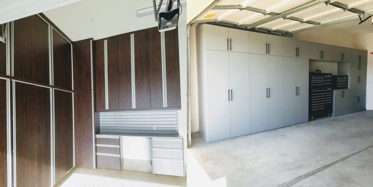 Garage Cabinets Built Individually