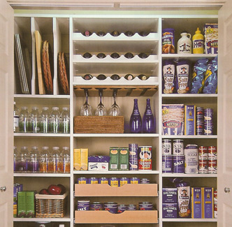 Pantry Sliding Shelves
